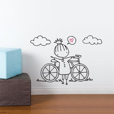 A Fine Day For a Ride Wall Decal--Wall Decal
