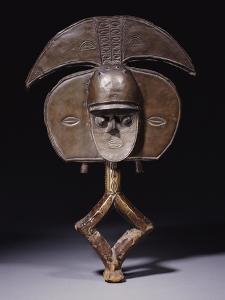 A Fine Kota Reliquary Figure, Mbulu Ngulu