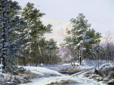 A Fine Winter's Day-Pieter Gerardus van Os-Giclee Print