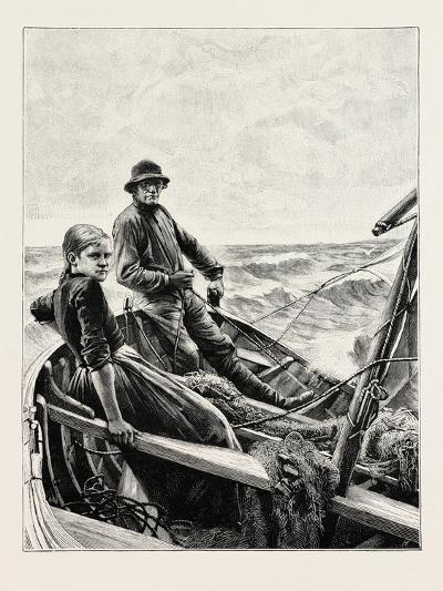 A Finland Fishing Boat--Giclee Print