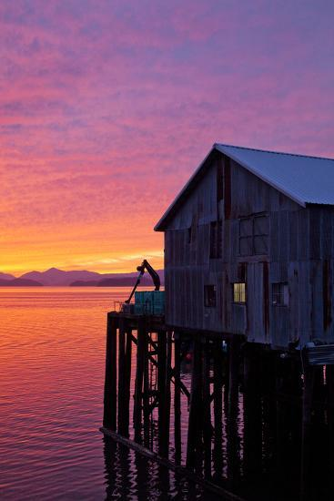 A Fish House over the Water-Michael Hanson-Photographic Print