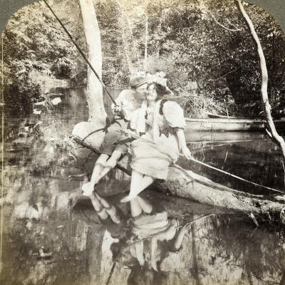 A Fishing Smack-Underwood & Underwood-Photographic Print