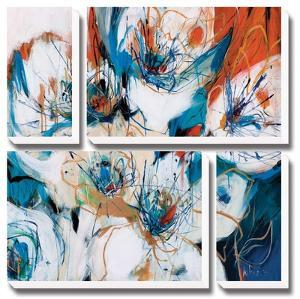 Splashes of Blue by A Fitzsimmons
