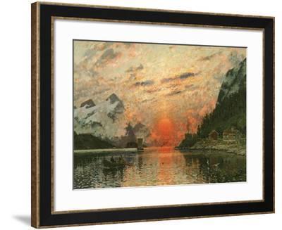 A Fjord-Adelsteen Normann-Framed Giclee Print