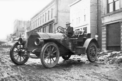 A Flooded Street in Pueblo, Colorado, Ca. 1921--Photographic Print