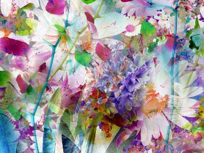 A Floral Montage Photographic Layer Work-Alaya Gadeh-Photographic Print