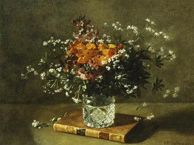 A Floral Still Life-Emile Gustave Couder-Giclee Print