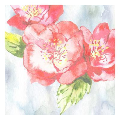 A Floral Tale 2-Sheldon Lewis-Art Print