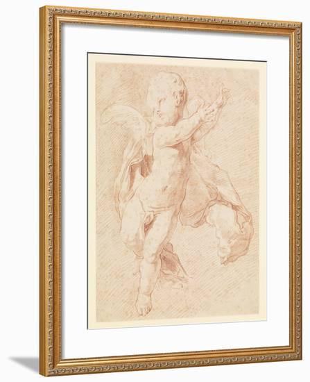 A Flying Putto-Edme Bouchardon-Framed Giclee Print