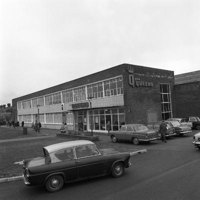 A Ford Anglia Outside Asda (Queens) Supermarket, Rotherham, South Yorkshire, 1969-Michael Walters-Photographic Print
