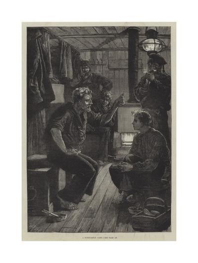 A Forecastle Yarn-William Heysham Overend-Giclee Print