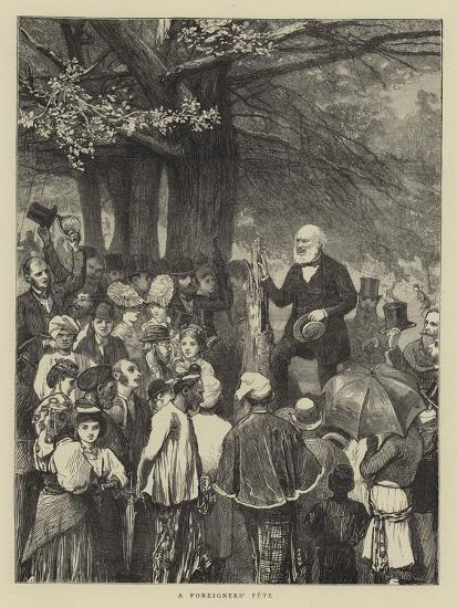 A Foreigners' Fete-William III Bromley-Giclee Print