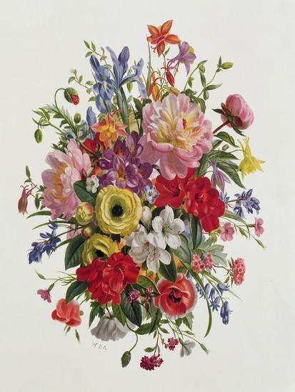 A Fragrant June Bouquet-Albert Williams-Giclee Print