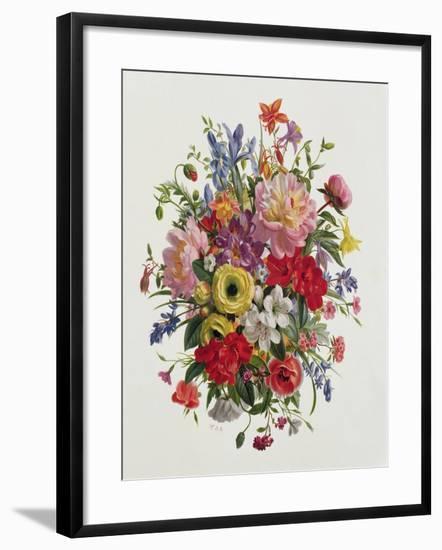 A Fragrant June Bouquet-Albert Williams-Framed Giclee Print