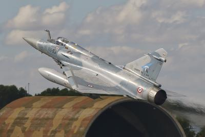 A French Air Force Mirage 2000C Taking Off in Spain-Stocktrek Images-Photographic Print