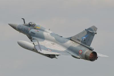 A French Air Force Mirage 2000C Taking Off-Stocktrek Images-Photographic Print