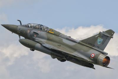A French Air Force Mirage 2000N Taking Off-Stocktrek Images-Photographic Print