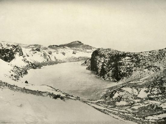'A Freshwater Lake near Cape Barne', c1908, (1909)-Unknown-Photographic Print