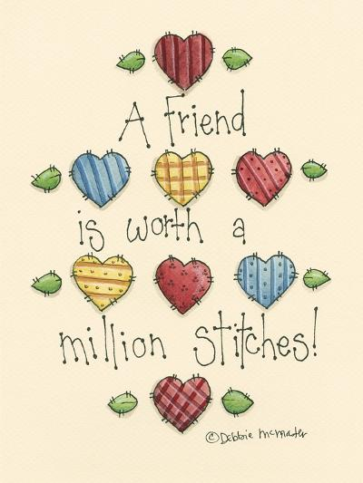 A Friend Is Worth-Debbie McMaster-Giclee Print