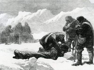 A Funeral in the Ice--Giclee Print