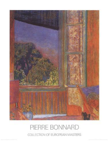 Pierre bonnard posters and prints at for Fenetre ouverte