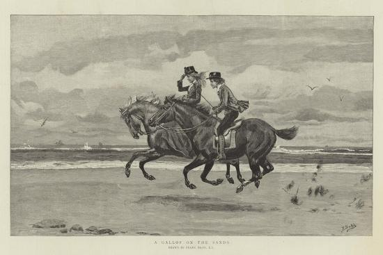 A Gallop on the Sands-Frank Dadd-Giclee Print