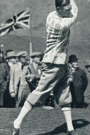 'A Game of Golf', 1924 (1937)-Unknown-Photographic Print