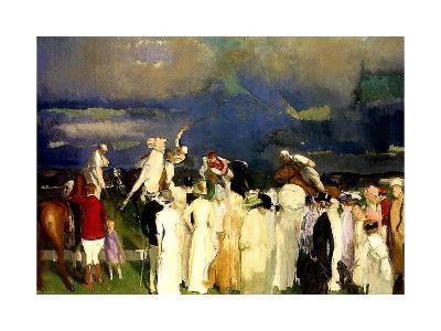 A Game of Polo, 1910-George Wesley Bellows-Giclee Print