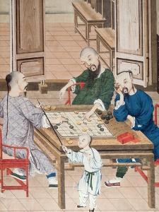 A Game of Strategy in China, Late 18th Century