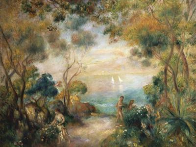 A Garden in Sorrento-Pierre-Auguste Renoir-Giclee Print