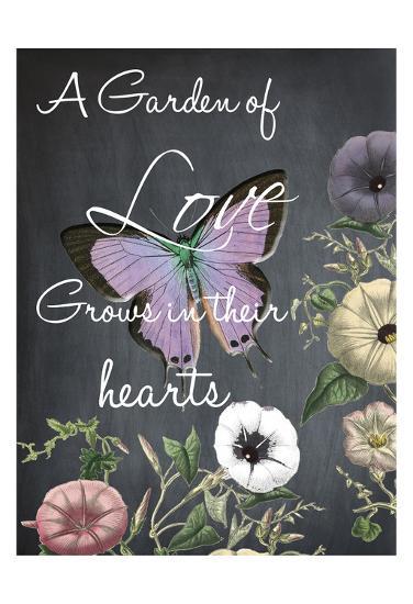 A Garden Of Love-Sheldon Lewis-Art Print
