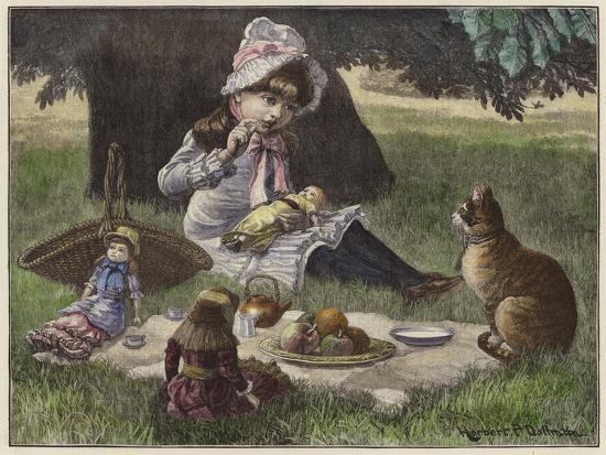 A Garden Party--Giclee Print