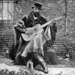A Gaucho, Argentina, 1922