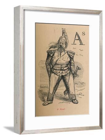 'A Gaul', 1852-John Leech-Framed Giclee Print