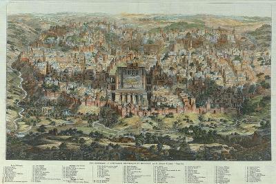 A General View of Jerusalem, 1862-Adolf Eltzner-Giclee Print