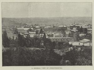 A General View of Johannesburg