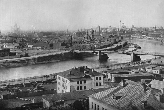 'A general view of Moscow, showing the Kremlin', 1915-Unknown-Photographic Print