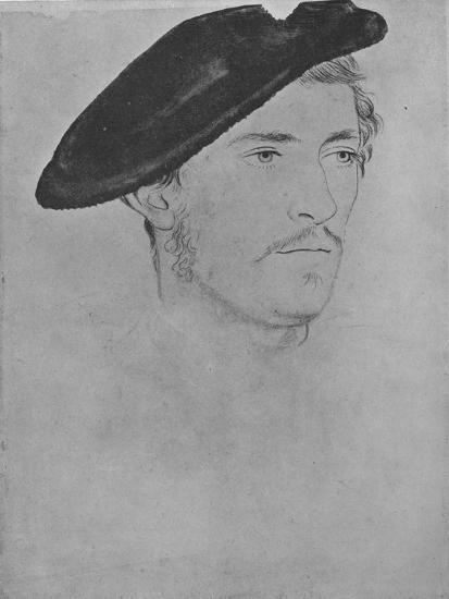 'A Gentleman: Unknown (Not by Holbein)', c16th century, (1945)-Unknown-Giclee Print