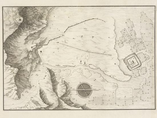 A Geometrical Plan of the Ruined City of Palmyra, 1753-Giovanni Battista Borra-Photographic Print