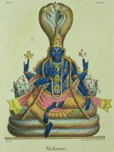 Vishnu by A Geringer