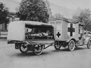 A German Ambulance, Eastern Front, World War I, 1915