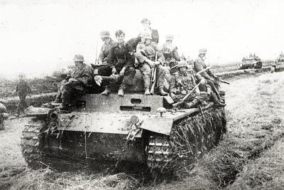 A German Panzer Pz Kpwiii Ausfe Tank--Photographic Print