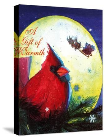 A Gift of Warmth - Jack & Jill-Gabriella Dellosso-Stretched Canvas Print
