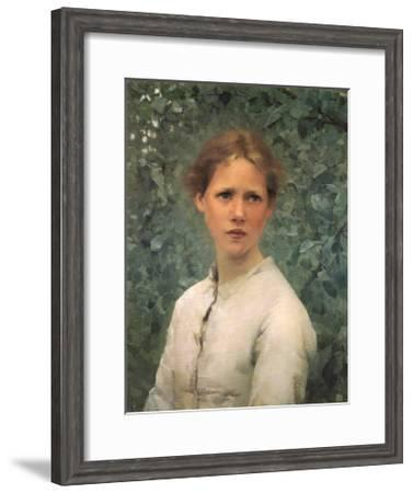 Sir George Clausen (With images) | Tate gallery, Girl, Art |Sir George Clausen Head Girls