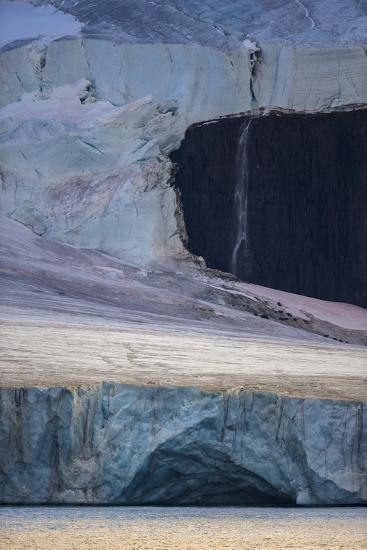A Glaciated Landscape of Franz Josef Land from a Passing Ship-Cory Richards-Photographic Print