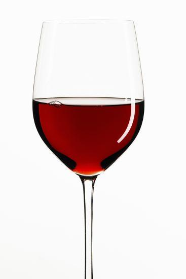 A Glass of Red Wine-Peter Rees-Photographic Print