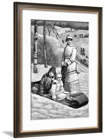 A Glimpse of Canada, 1893--Framed Giclee Print