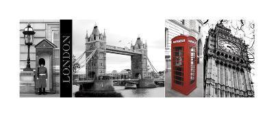 A Glimpse of London-Jeff Maihara-Giclee Print