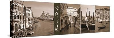 A Glimpse of Venice-Jeff Maihara-Stretched Canvas Print