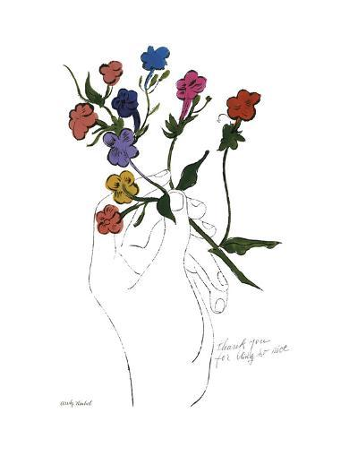 A Gold Book, 1957-Andy Warhol-Art Print
